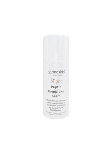 Dermoskin Dermoskin Tüm Cilt Tipleri Için Yaşlanma Karşıtı Be Bright Peptide Complex Cream 33 Ml Renksiz